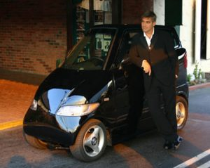 George Clooney - Photo Courtesy of : http://www.ridelust.com/50-celebrities-their-cars/